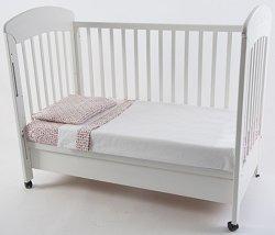 Спален комплект за бебешко креватче - Galaxy - 3 части -