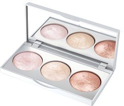 Golden Rose Strobing Highlighter Palette - Палитра хайлайтъри за лице -