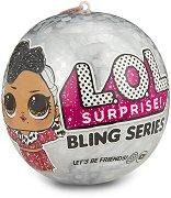 L.O.L. Surprise - Кукла изненада с брокат - В комплект с аксесоари - чанта
