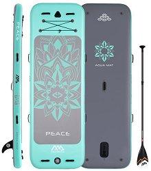 Надуваем SUP борд - Peace - Плаваща подложка за йога, пилатес и гимнастика