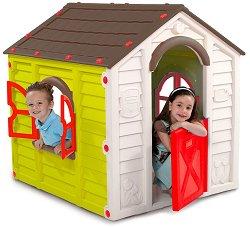 Детска сглобяема къща за игра - Rancho - Размери 113 / 118 / 99 cm - играчка