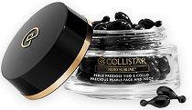 "Collistar Nero Sublime Black Precious Pearls - Детоксикиращи перли за лице и шия от серията ""Nero Sublime"" -"