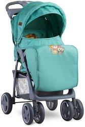 Комбинирана бебешка количка - Foxy 2019 - С 4 колела и покривало за крачета -