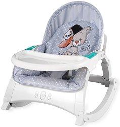 Бебешки шезлонг - Alex 2019 - С вибрация и мелодии - продукт