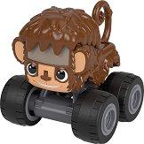 """Маймуна - Количка от серията """"Пламъчко и машините"""" - количка"""