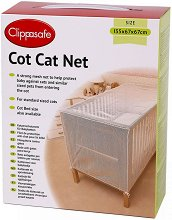 Предпазна мрежа против котки - Аксесоар за бебешки кошари и сгъваеми легла -