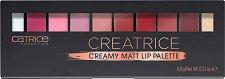Catrice Creatrice Creamy Matt Lip Palette - Палитра с грим за устни - продукт