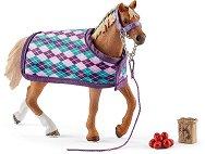 """Чистокръвна английска кобила - Комплект фигура и аксесоари от серията """"Клуб по езда"""" -"""