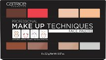 Catrice Professional Make Up Techniques Face Palette - Палитра с грим за лице -
