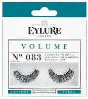 Eylure Volume 083 - Мигли от естествен косъм в комплект с лепило -