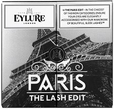 Eylure The Lash Edit Paris - Комплект от 3 чифта изкуствени мигли и лепило -