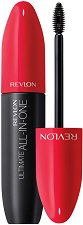Revlon Ultimate All-In-One Waterproof Mascara - Водоустойчива спирала за мигли с 5 действия -