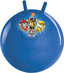 """Детска топка за скачане - Маршъл, Чейз и Рабъл - От серията """"Пес Патрул"""" - творчески комплект"""