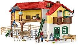 """Фермерска къща - Комплекти фигури и аксесоари от серията """"Животните от фермата"""" - фигури"""
