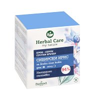 """Farmona Herbal Care Siberian Iris Anti-Wrinkle Cream - Крем против бръчки със стволови клетки и сибирски ирис от серията """"Herbal Care"""" -"""