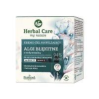 "Farmona Herbal Care Moisturizing Algae Cream-Gel - Хидратиращ крем-гел с термална вода и сини водорасли от серията ""Herbal Care"" - червило"