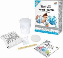 """Създай сам - Кристали - Образователен комплект от серията """"Mini Lab"""" - играчка"""