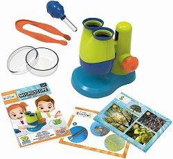 """Микроскоп - Образователна играчка от серията """"Mini Sciences"""" -"""