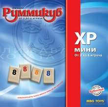 Руммикуб - XP мини - Семейна логическа игра -
