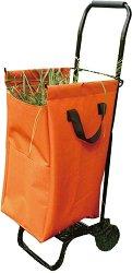 Градински кош за събиране на трева - Комплект с количка