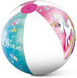 Надуваема топка - Еднорог - С диаметър ∅ 50 cm -