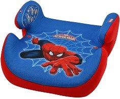"""Детско столче за кола - Topo - От серията """"Спайдърмен"""" за деца от 15 до 36 kg - чанта"""