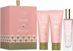 """Scottish Fine Soaps La Paloma Box of Delights - Луксозен подаръчен комплект с козметика за тяло от серията """"La Paloma"""" - продукт"""