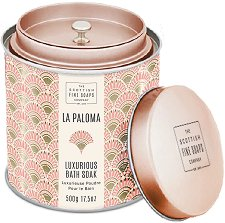 "Scottish Fine Soaps La Paloma Luxurious Bath Soak - Луксозна пудра за вана от серията ""La Paloma"" - сапун"