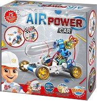 """Автомобил със сгъстен въздух - Образователен конструктор от серията """"Construction"""" - играчка"""