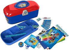 Комплект за оцветяване в куфарче - Пес Патрул -
