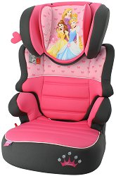 """Детско столче за кола - Befix - От серията """"Принцесите на Дисни"""" за деца от 15 до 36 kg - пъзел"""