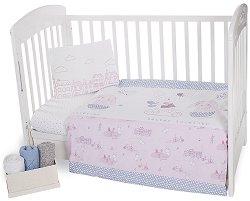 Спален комплект за бебешко креватче - Better Together -