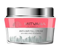 Mitvana Anti-Hair Fall Cream - Крем против косопад с амла и розмарин -