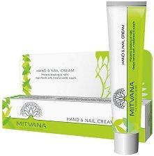 Mitvana Hand & Nail Care Cream - Крем за ръце и нокти с масла от манго и кокум - маска