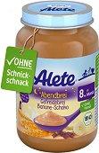 """Alete - Био каша """"Лека нощ"""" с банан и шоколад - Бурканче от 190 g за бебета над 8 месеца - продукт"""