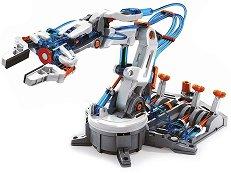 """Хидравлична роботизирана ръка - Образователен конструктор от серията """"Construction"""" -"""