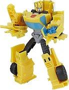 """Bumblebee - Sting Shot - Трансформираща се играчка от серията """"Transformers: Cyberverse"""" - фигури"""