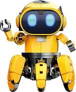 """Робот - Tibo - Интерактивен конструктор от серията """"Construction"""" - образователен комплект"""