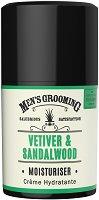 """Scottish Fine Soaps Men's Grooming Vetiver & Sandalwood Moisturiser - Хидратиращ крем за лице за мъже от серията """"Men's Grooming"""" - балсам"""