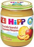 HiPP - Био пюре от слънчеви плодове - Бурканче от 125 g за бебета над 4 месеца - продукт