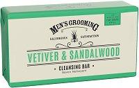 Scottish Fine Soaps Men's Grooming Vetiver & Sandalwood Cleansing Bar - продукт
