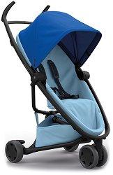 Комбинирана бебешка количка - Zapp Flex: Blue on Sky - С 3 колела -