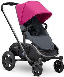 Комбинирана бебешка количка - Hubb - С 4 колела -