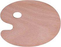 Дървена палитра - Размери 24 х 30 cm