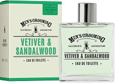 Scottish Fine Soaps Men's Grooming Vetiver & Sandalwood EDT - Мъжки парфюм -