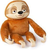"""Ленивец - Господин Слоу - Интерактивна плюшена играчка от серията """"Club Petz"""" - играчка"""