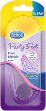 Scholl Party Feet Heel Shields - Прозрачни предпазители за пети -