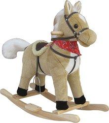 Детска дървена люлка - Конче Тъндър -