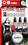 Спрей за текстил - Classic Glam - Комплект от 3 цвята х 100 ml