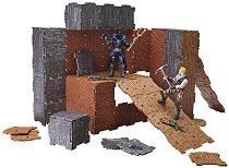 """Крепост - Turbo Builder - Комплект с 2 фигури и аксесоари  от серията """"Fortnite""""  -"""